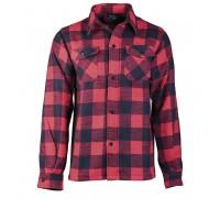 Фланелевая рубашка (черно-красная клетка)