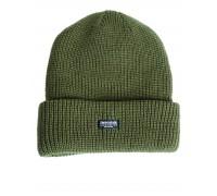 """Акриловая шапка  """"Thinsulate"""" оливковая"""