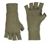 Милтек перчатки беспалые вязаные Thinsulate олива