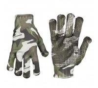 Милтек перчатки Spandoflage вудленд