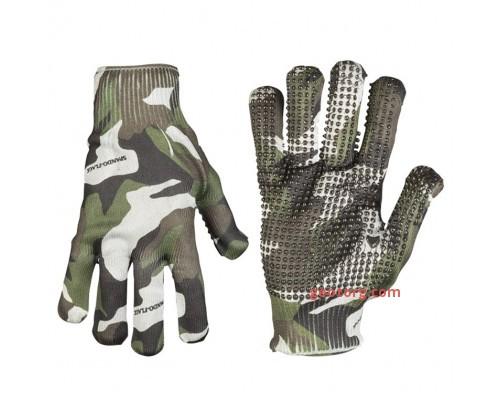 """Американские перчатки """"SPANDOFLAGE® GRIPPER"""" вудленд"""