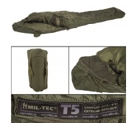 Милтек спальник Tactical 5 (-20С) олива