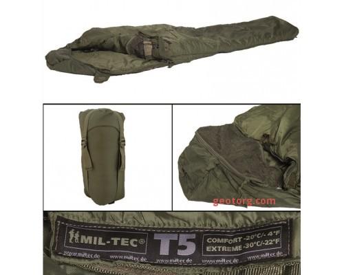 "Милтек спальник ""Tactical 5"" (-20С) олива"