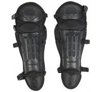 Защита колена и голени черные