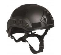 Шлем боевой MICH 2001, Mil-tec, черный.