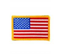 Нашивки флаг США матерчатый, цветной, Mil-tec.