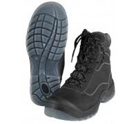 """Высокие рабочие ботинки """"W.PLASTIC"""" черные"""