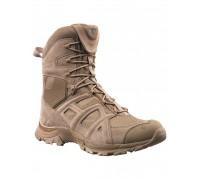 Ботинки M.ZIPPER HAIX высокие, Mil-tec, пустыня.