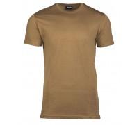 Милтек футболка 100% коттон койот.