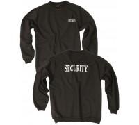 """Толстовка с надписью """"SECURITY"""" черная"""
