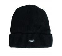 "Акриловая шапка ""Thinsulate"" черная"
