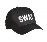 """Бейсболка """"SWAT"""" черная"""