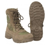 Милтек ботинки тактические с молнией A-TACS FG.
