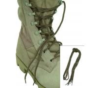 Шнурки для ботинок десантника полиэстер (180 cм.), Mil-tec, койот.