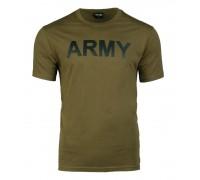 """Футболка """"Army"""" оливковая"""