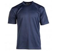 """Тактическая футболка """"быстросохнущая"""" темно-синяя"""