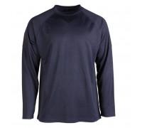 """Тактическая рубашка с длинным рукавом """"быстросохнущая"""" темно-синяя"""