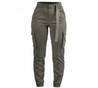 Армейские женские брюки (оливковые)