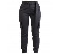Армейские женские брюки (черный)
