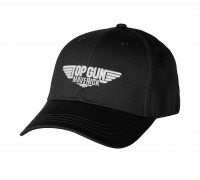 Бейсболка 'top gun' черная