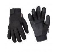 Армейские зимние перчатки (черные)