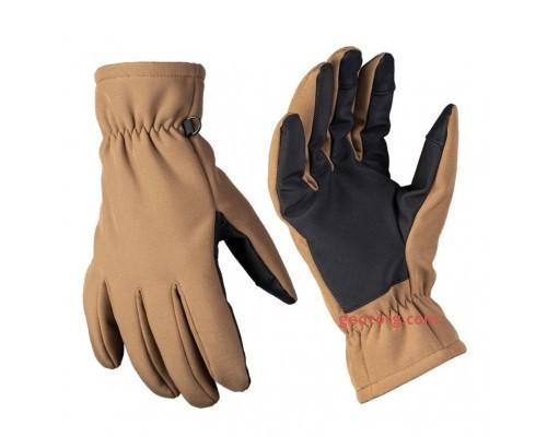 Перчатки софтшелл thinsulate ™ (dark coyote)