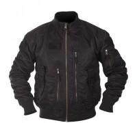 Куртка летная US TACTICAL, цвет черный