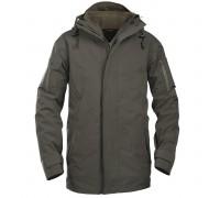 """Куртка """"Ranger green"""" для влажной погоды с флисовой подкладкой"""