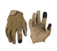 """Сенсорные перчатки """"COMBAT"""" оливе"""