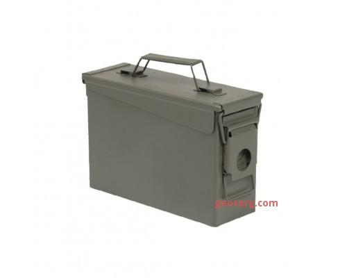 Ящик для патронов M19A1 без печати оливковый (кал. 30) репродукция