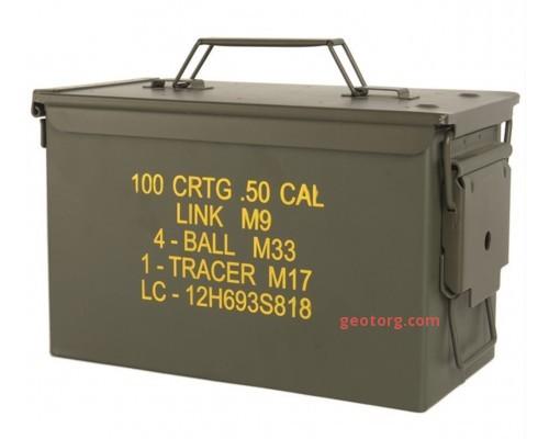 Ящик для патронов M2A1 оливковый (кал. 50)