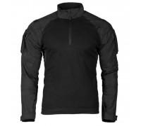 Черная тактическая рубашка 2.0