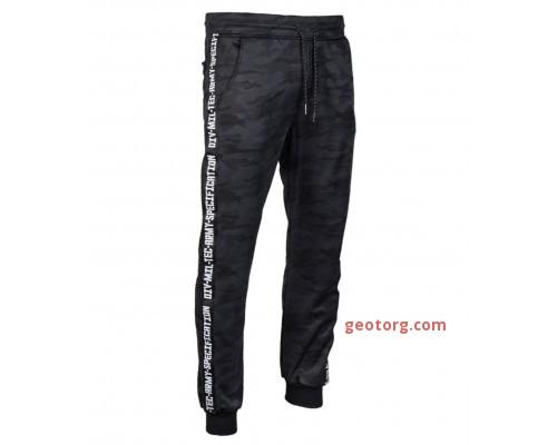 Тренировочные брюки (темный камуфляж)