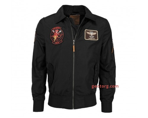 Летная куртка ′hornet′ черная
