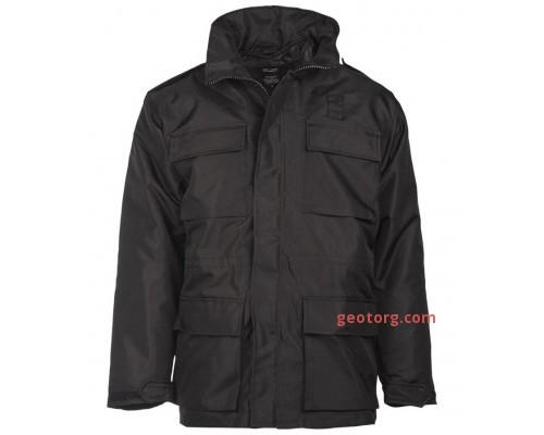 """Черная куртка """"Security"""""""