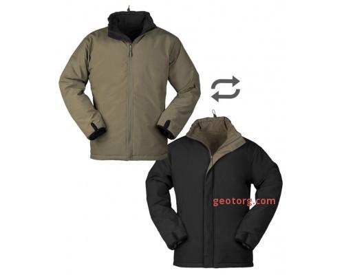 Тактическая двухсторонняя куртка (зеленый / черный)