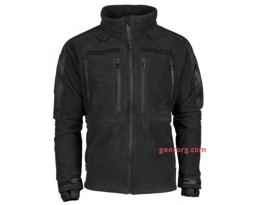 """Куртка флисовая """"MIL-TEC® PLUS"""" черная"""