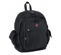 """Городской рюкзак """"RED STAR"""" черный"""