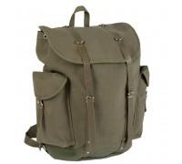 Немецкий горный рюкзак с кожаными ремнями