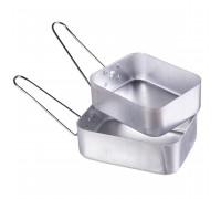Британский 2-шт. комплект посуды из анодированного алюминия