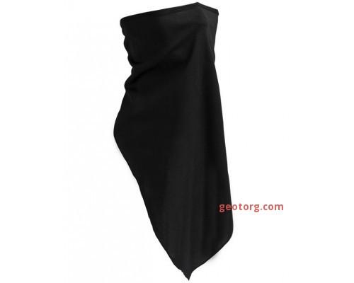 Черный тактический шарф