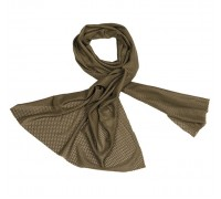 Сетчатый шарф (оливковый)
