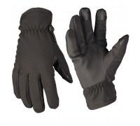 Перчатки Softshell с Thinsulate черные