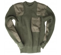 Бундес.свитер акрил (Olive).
