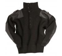 Австралийский черный шерстяной свитер