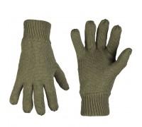 Милтек перчатки вязаные Thinsulate олива