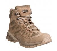 Милтек ботинки Trooper 5 дюймов койот.