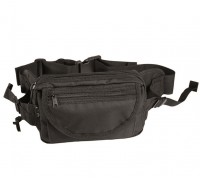 Милтек сумка поясная черная