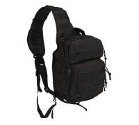 Милтек рюкзак через плечо малый черный