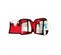 Аптечка первой помощи большая, Mil-tec, красная.